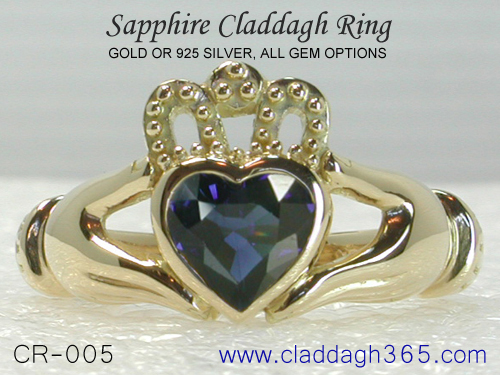 cladagh engagement ring