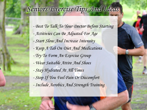 exercise ideas for older people